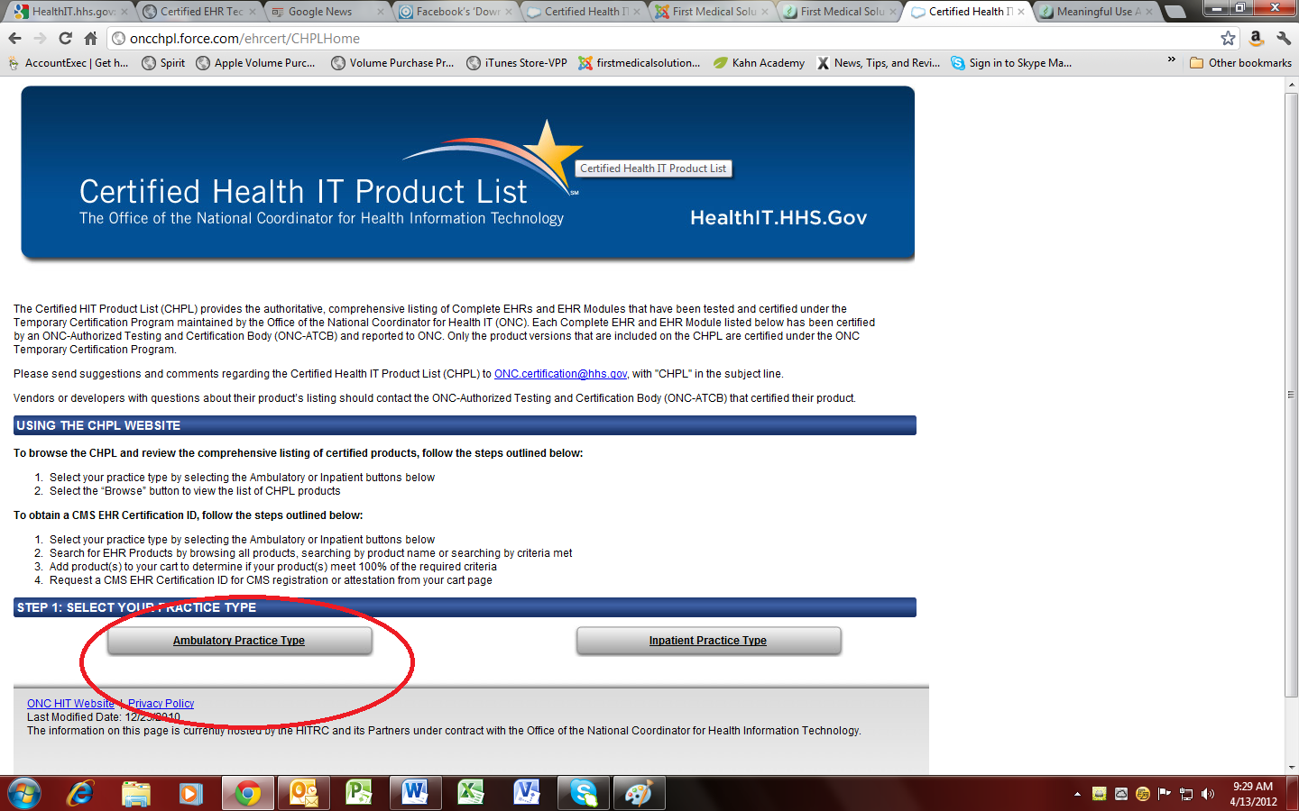 Meaningful use step by step guide to get the required cms ehr certification id 1betcityfo Images
